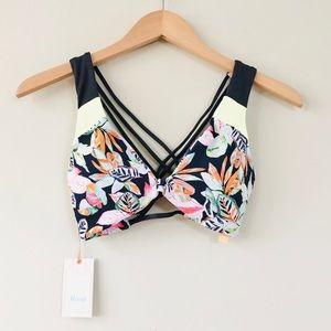 NWT Maaji Shading Valley Halter Bikini Top